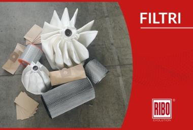 Sistema di pulizia del filtro: le soluzioni RIBO